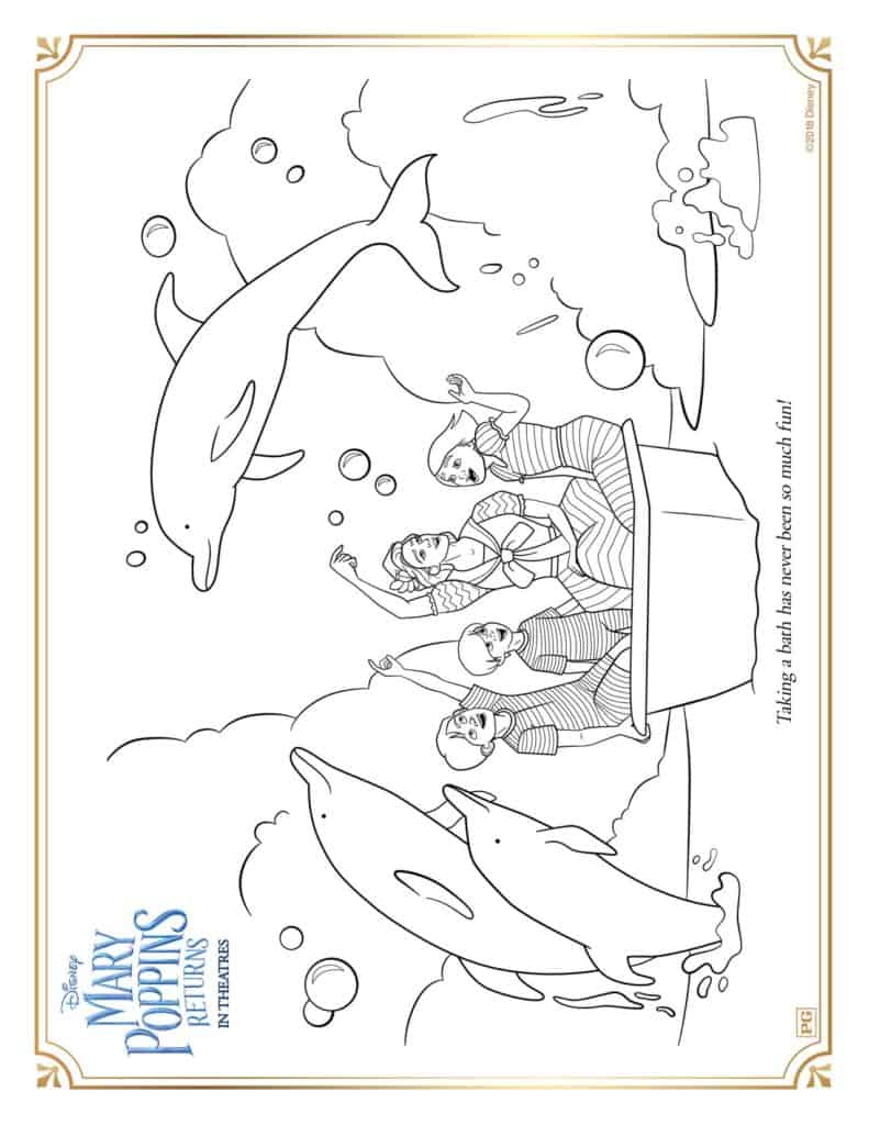 Free Mary Poppins Returns Printable Activity Sheets Elayna