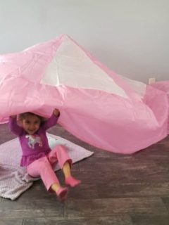 AirFort - inflatable fort for kids