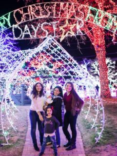Daystar Christmas lights Christmastown family Christmas in Dallas Fort Worth