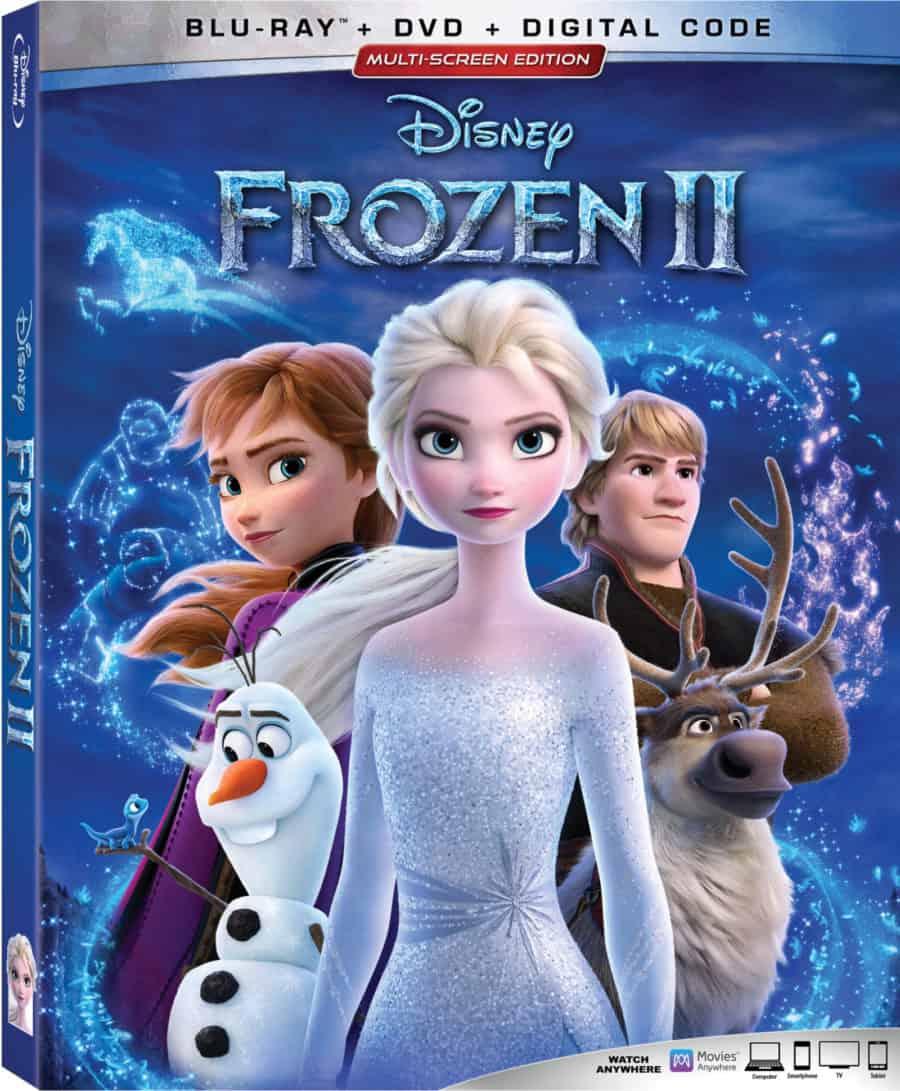 Disney's Frozen 2 BluRay Combo Pack
