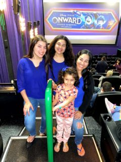 Disney Pixar Onward family movie screening