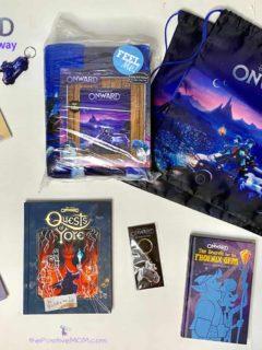 Disney Pixar ONWARD prize pack giveaway