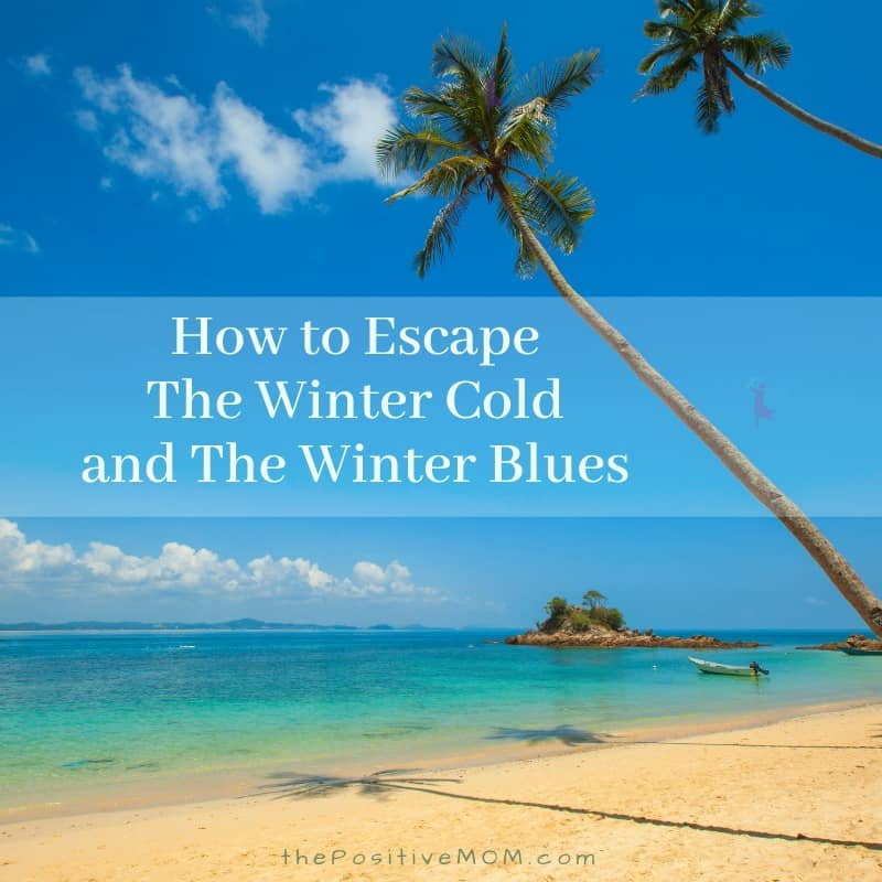 How To Escape The Winter Cold And The Winter Blues