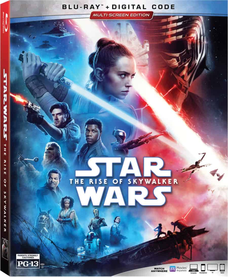 Starwars The Rise of Skywalker bonus features
