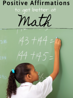 Positive Math Affirmations : Do Positive Affirmation Work To Get Better At Math?