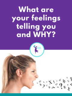 What are your feelings telling you and WHY?