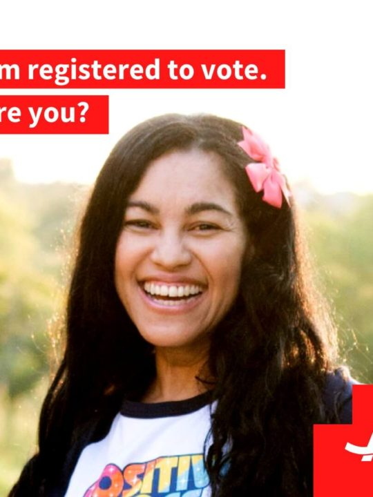 I'm registered to vote - Are you?