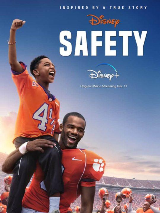 Safety movie poster - Disney Plus