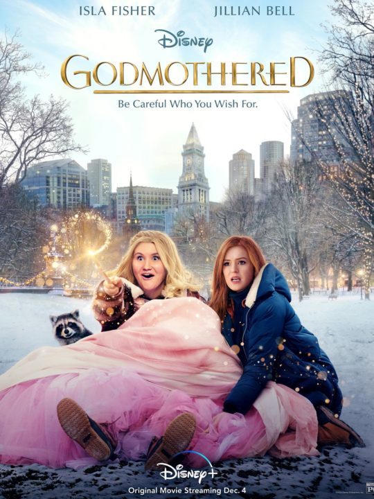 GODMOTHERED, exclusively on Disney+ movie poster