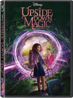 Upside Down Magic Disney DVD