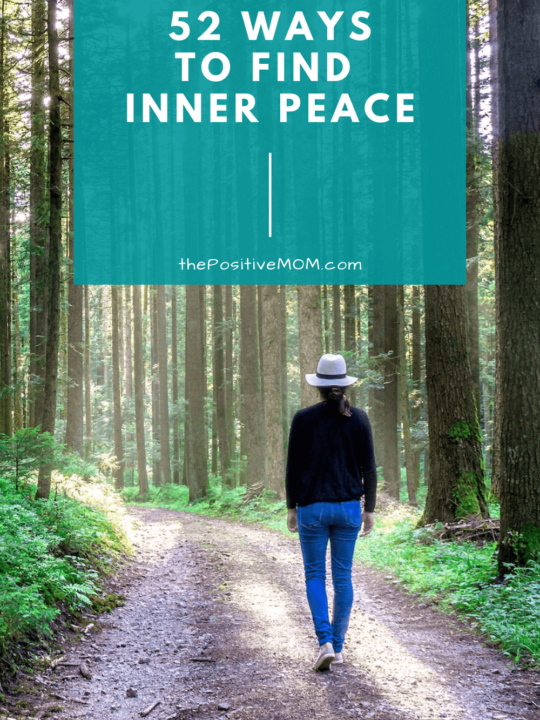52 ways to find inner peace