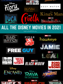All the Disney movies coming out in 2021