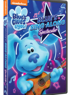 BLUE'S CLUES & YOU! BLUE'S SING-ALONG SPECTACULAR DVD giveaway