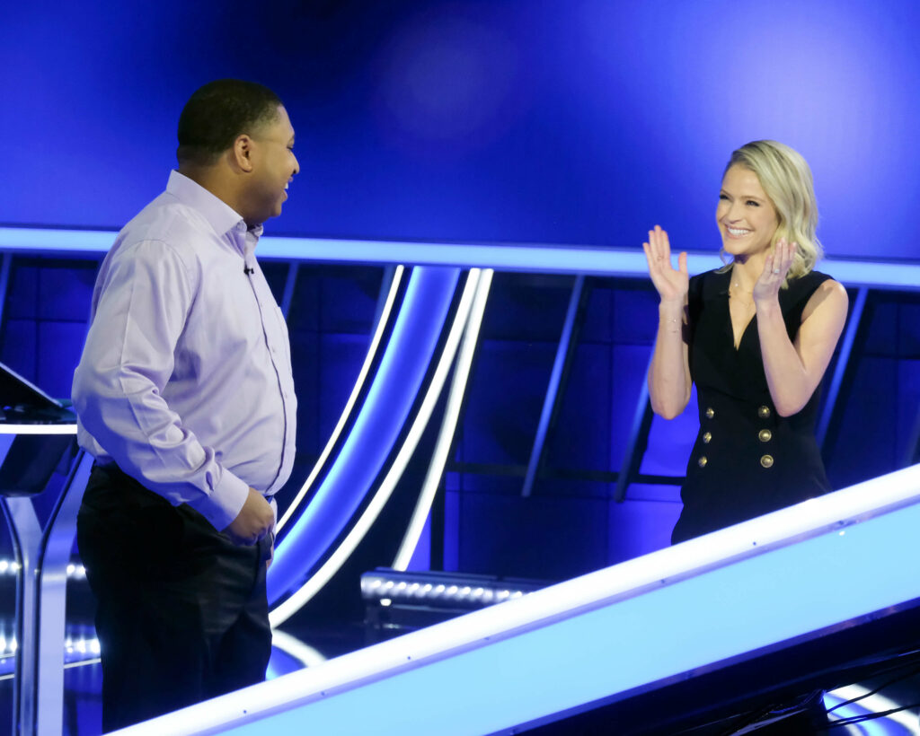 Sara Haines quiz show host - ABC's The Chase