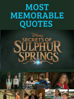 The Most Memorable Quotes From Secrets of Sulphur Springs Season 1