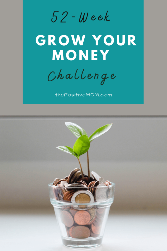 The 52-week grow your money challenge for saving money