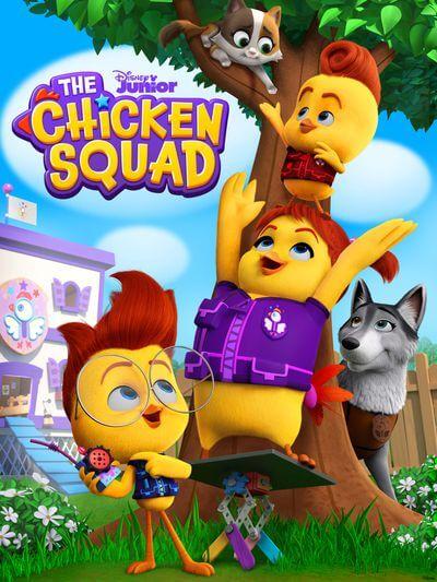 Disney Junior Chicken Squad