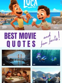 Disney Pixar LUCA Quotes and Fun Facts