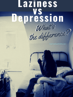 Laziness vs Depression - understand the difference