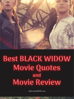 The Best Black Widow Movie Quotes and Movie Review for Moms