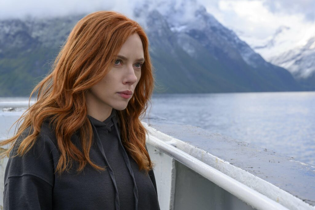 Scarlett Johansson is Black Widow in the new Marvel Studios movie