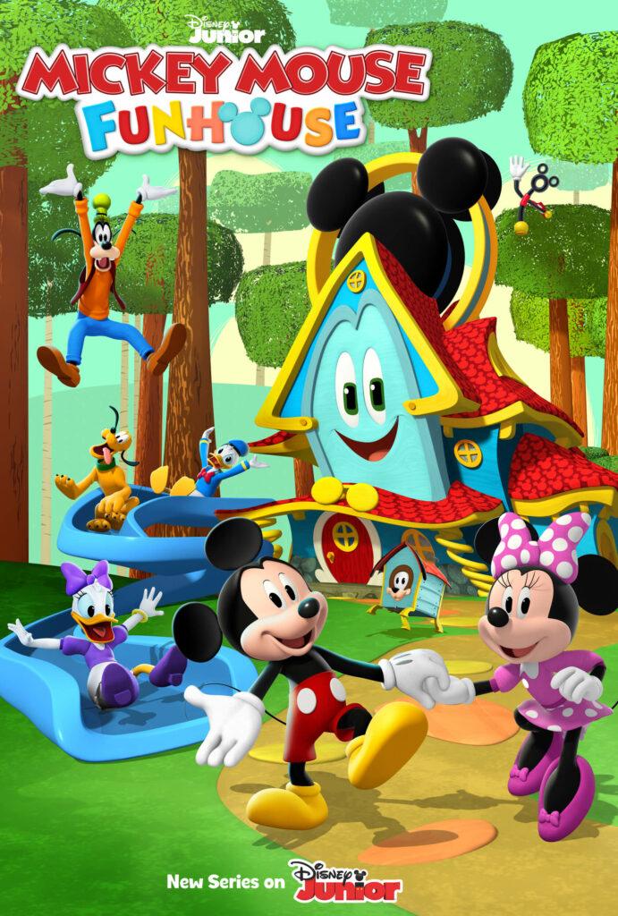 Disney Junior - the Mickey Mouse Fun House series