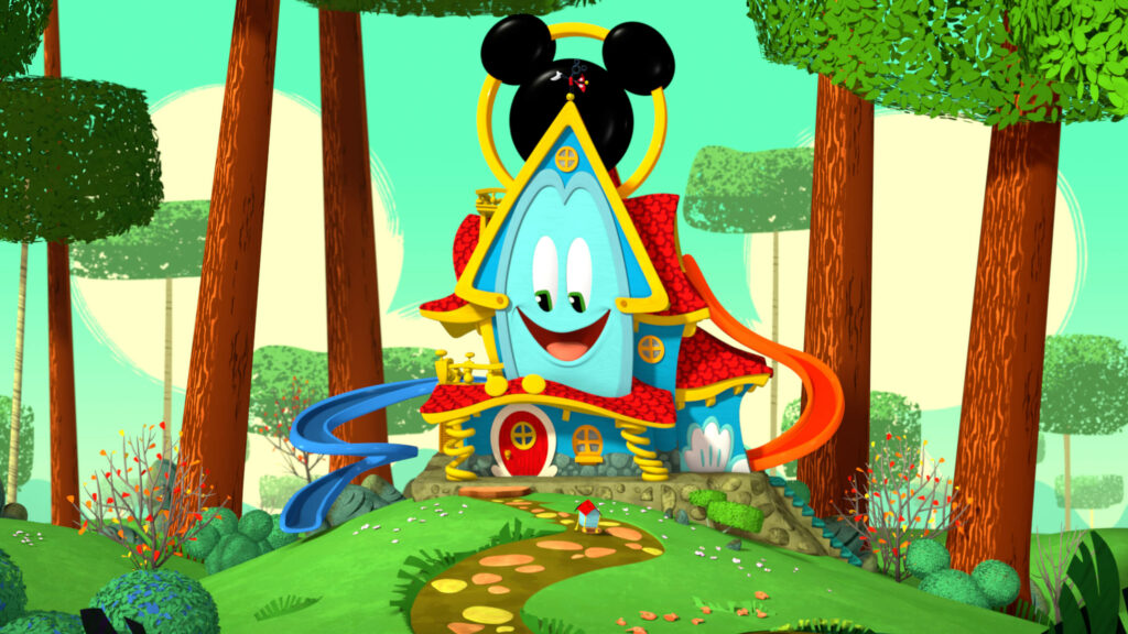 Funny - the enchanted talking fun house - Disney Junior - the Mickey Mouse Fun House series