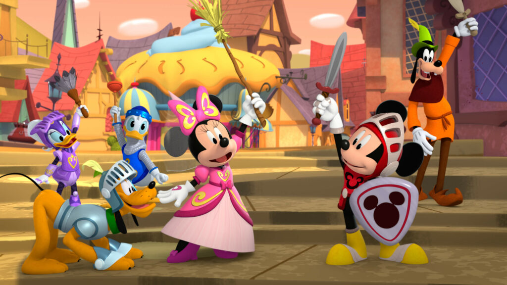 Mickey Mouse and The Sensational Six - Disney Junior - the Mickey Mouse Fun House series