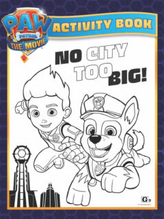 Paw Patrol The Movie activity book for kids